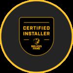 EVAPORALIA Big Ass Fans - POWERFOIL X3.0 - Certificado de instalación